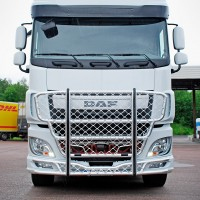 A63-2,Highway,DAF XF-106,presentation,lackerad,lacquered,vit,white