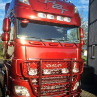 A63-2,Highway,DAF XF 106-Super-Space Cab,presentation,lackerad,lacquered,red,röd