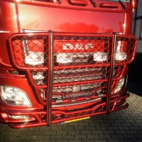 A63-2,Highway,DAF XF 106-Super-Space Cab,lackerad,lacquered,red,röd