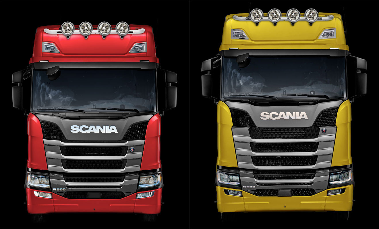 trux third top bar for the new the scania trux. Black Bedroom Furniture Sets. Home Design Ideas