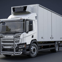 A24-5,Highway,Nextgen Scania P Low,New Scania P Low,Day cab,vit,white,3D
