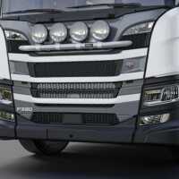 H24-4,X-Bar,ljusbåge,lightbar,Nextgen Scania P Normal,New Scania P Normal,vit,white,3D