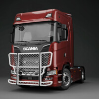 A24-1,Trux Highway,Nextgen Scania S High,New Scania S High,red,röd,3D