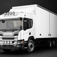 Trux Top-Bar,G24-9,Scania P Normal,white,vit,lackerad,lacquered