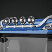 Trux Top-Bar,G24-9,Scania R Normal,red,röd,lackerad,lacquered