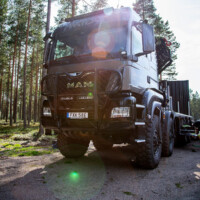 Trux Offroad,B74-2,MAN TGS,Max Hunt,black,svart, lackerad,lacquered