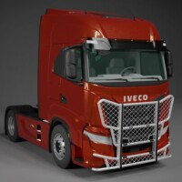 Trux Highway,A54-1,Iveco Hi-Way,red,röd,3D,