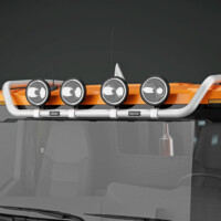Trux Top-Bar,G24-8,Scania,Scania XT,low,orange,