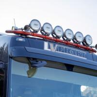 Trux Highway,A16-2,Trux Top-Bar,G16-6,Volvo FH4,orange,lackerad,lacquered,Simssons entreprenad