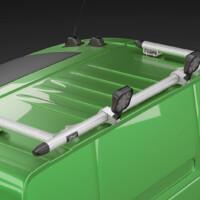 E16-3,Trux Spacing Tube,Volvo FH 2020,Glob XL,FH16,grön,green,3D