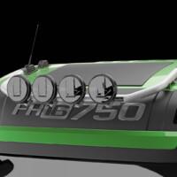 G16-4,Trux Top-Bar,Volvo FH 2020,Glob XL,FH16,grön,green,3D