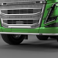 L16-2,Trux U-Bar,Volvo FH 2020,Glob XL,FH16,grön,green,3D