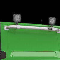 P16-2,Trux Rear Top-Bar,Volvo FH 2020,Glob XL,FH16,grön,green,3D