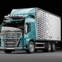 A16-3,Trux Highway,G16-6,Trux Top-Bar,Volvo FM 2021 HSLP,Glob,blå,blue,3D