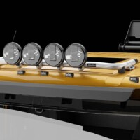 G16-2,Trux Top-Bar,Volvo FM 2021 SLP,Low,gul,yellow,3D