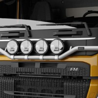 H16-7,Trux Light-Bar,Volvo FM 2021 SLP,Low,gul,yellow,3D