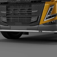 L16-2,Trux U-Bar,Volvo FM 2021 SLP,Low,gul,yellow,3D