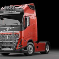 B16-2,Trux Offroad,G16-6,Trux Top-Bar,Volvo FH 2020,Glob,red,röd,3D