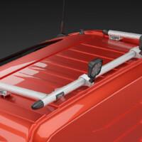 E16-3,Trux Spacing Tube,G16-3,Trux Rear Top-Bar,Volvo FH 2020,Glob,red,röd,3D