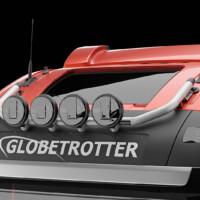 G16-4,Trux Top-Bar,Volvo FH 2020,Glob,red,röd,3D
