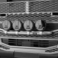 H16-4,Trux X-Bar,Volvo FH 2020,Glob,red,röd,3D