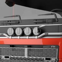 H16-6,Trux Light-Bar,Volvo FH 2020,Glob,red,röd,3D