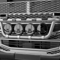 K16-3,Trux X-Light,Volvo FH 2020,Glob,red,röd,3D