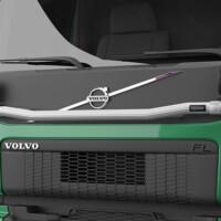 H13-6,Trux Light-Bar,Volvo FL,green,grön,3D
